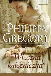 wieczna księżniczka Philippa Gregory okładka