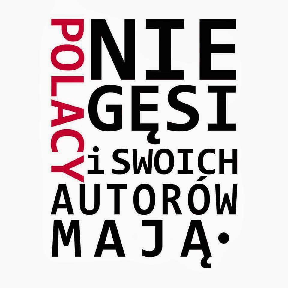 Polacy niegęsi iswoich autorów mają logo