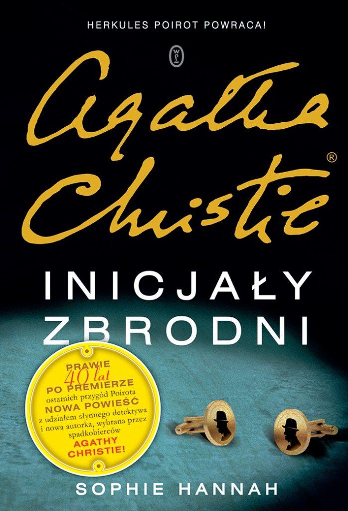 Inicjały zbrodni Agatha Christie okładka