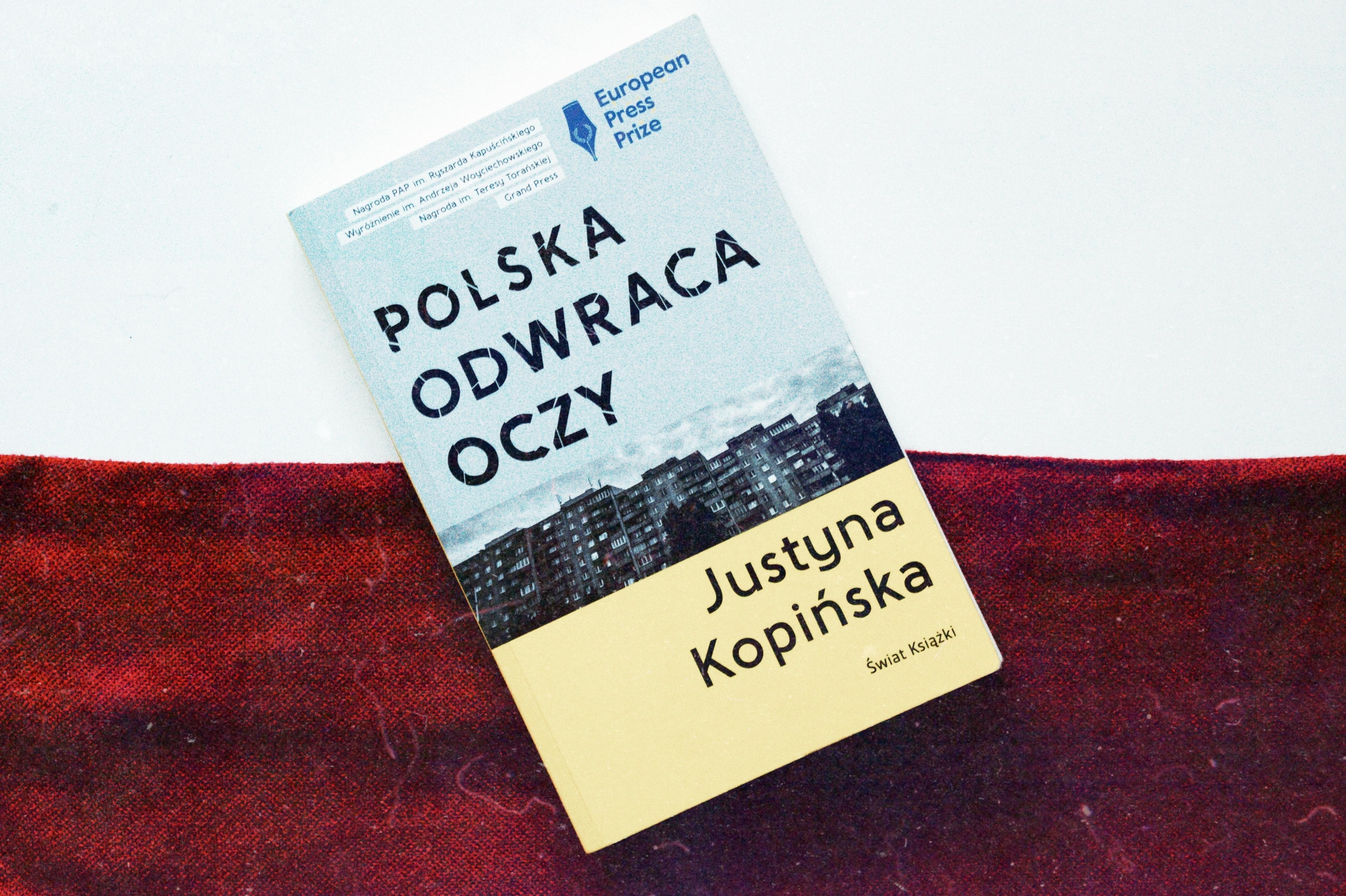polska odwraca oczy justyna kopińska