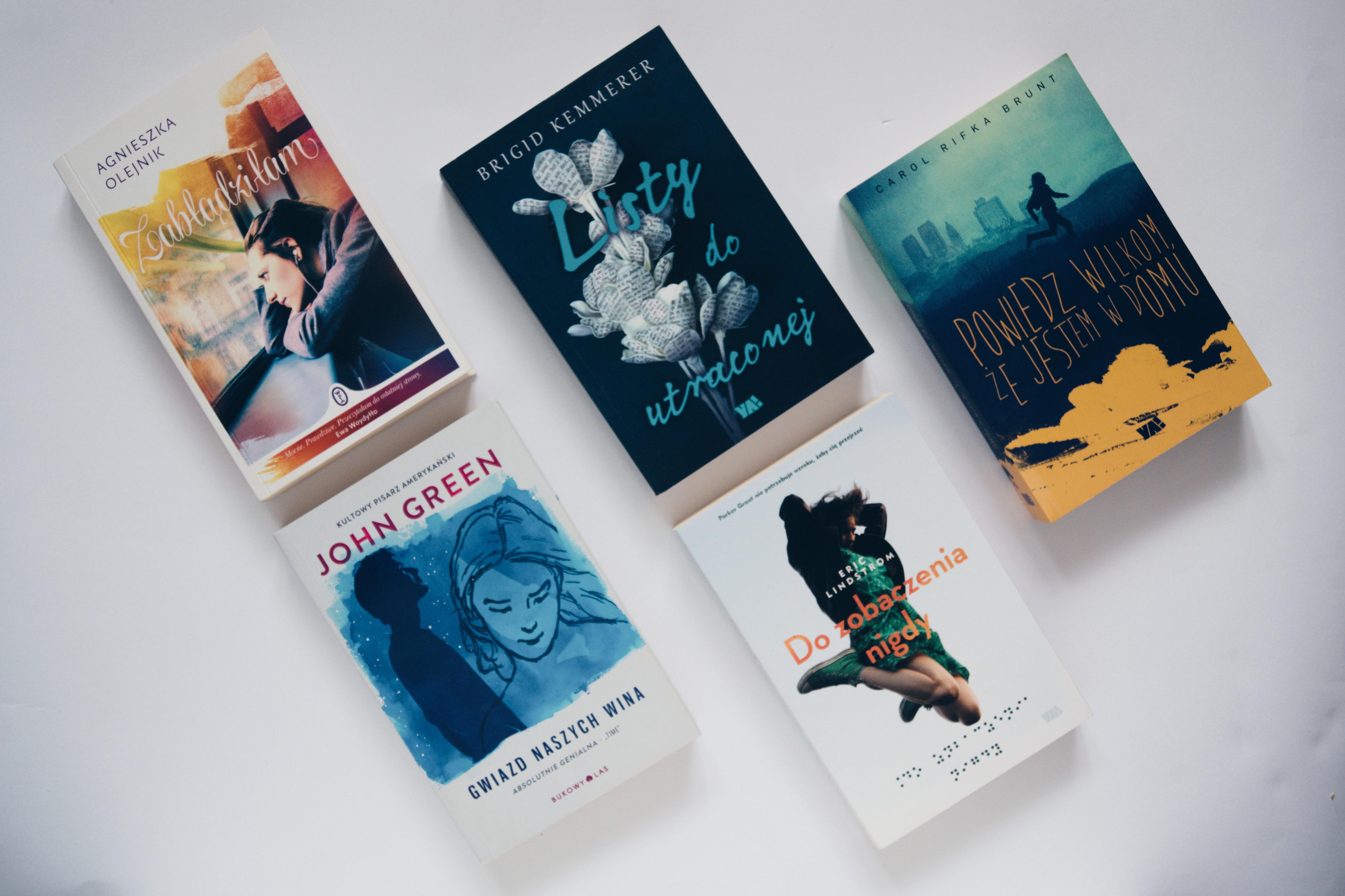 Książki młodzieżowe dla nastolatek